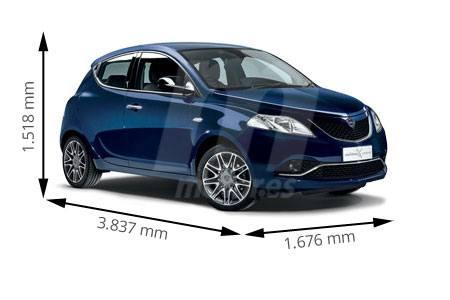 Medidas de coches Lancia