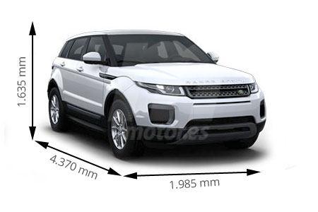 Medidas Land Rover