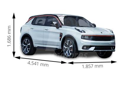 Medidas de coches Lynk & Co