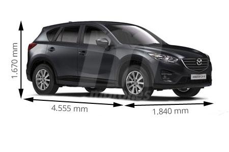 Medidas Mazda