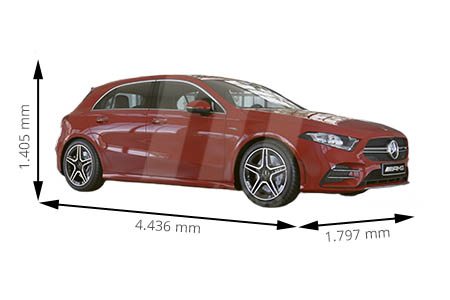 Medidas Mercedes Clase A Longitud Anchura Altura Y Maletero