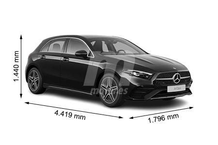 Medidas Mercedes Clase A Longitud Anchura Altura Y Maletero Motor Es