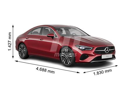 Medidas Mercedes Clase Cla Longitud Anchura Altura Y Maletero Motor Es
