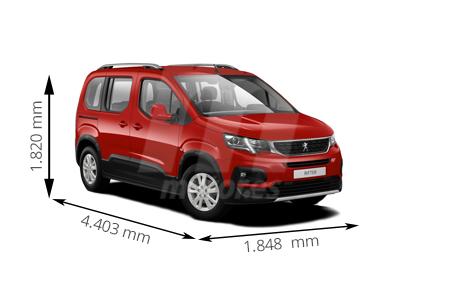 Medidas Peugeot