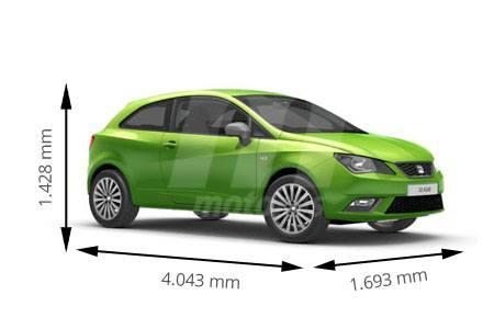 Medidas de coches seat - Dimensiones seat ...