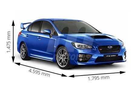 Medidas Subaru
