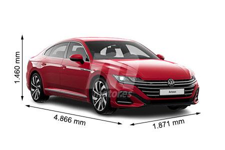 Medidas de coches Volkswagen