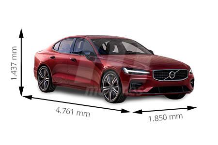 Medidas de coches Volvo