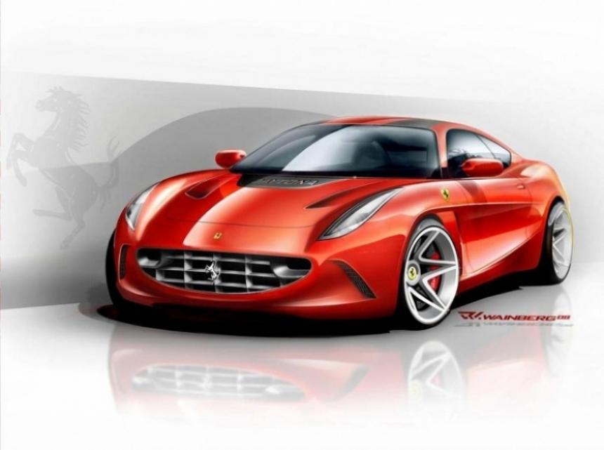 Abarth trabaja en una mini Ferrari.