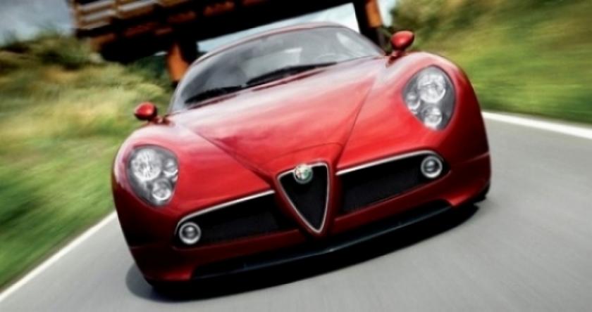 Alfa Romeo celebra 100 años con un súper 8C en Pebble Beach