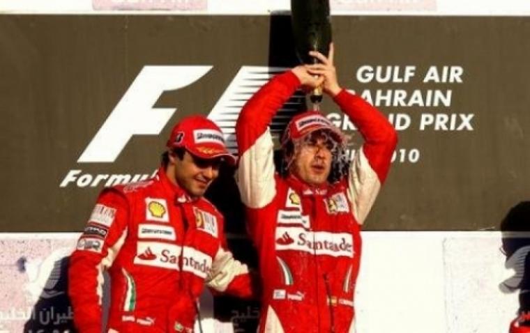 Alonso: El podio es el objetivo, la victoria en Valencia un sueño