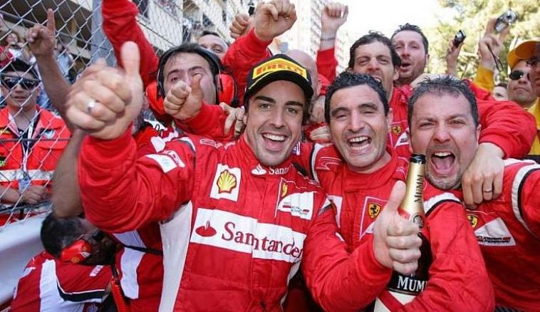 Alonso: No tenía nada que perder. Si hay un accidente, pues hay un accidente. Así es Mónaco
