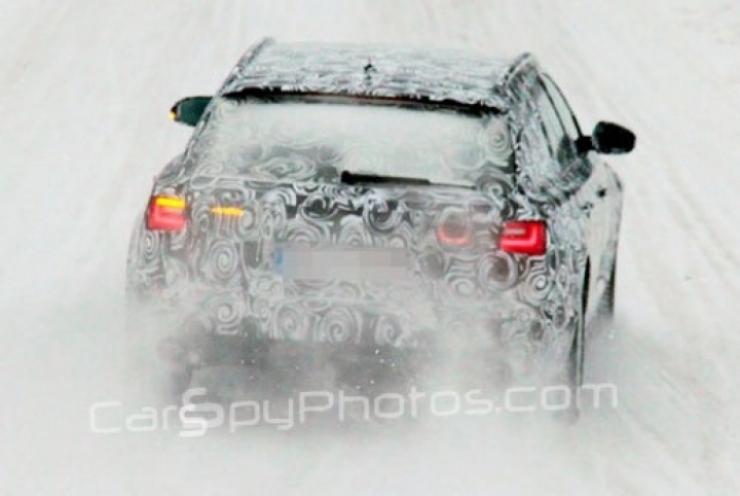 Aparece el Audi A6  Avant 2012