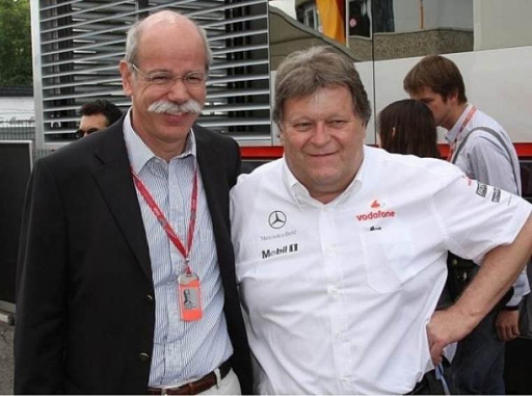 Aparentemente Mercedes acabará separándose de Mclaren