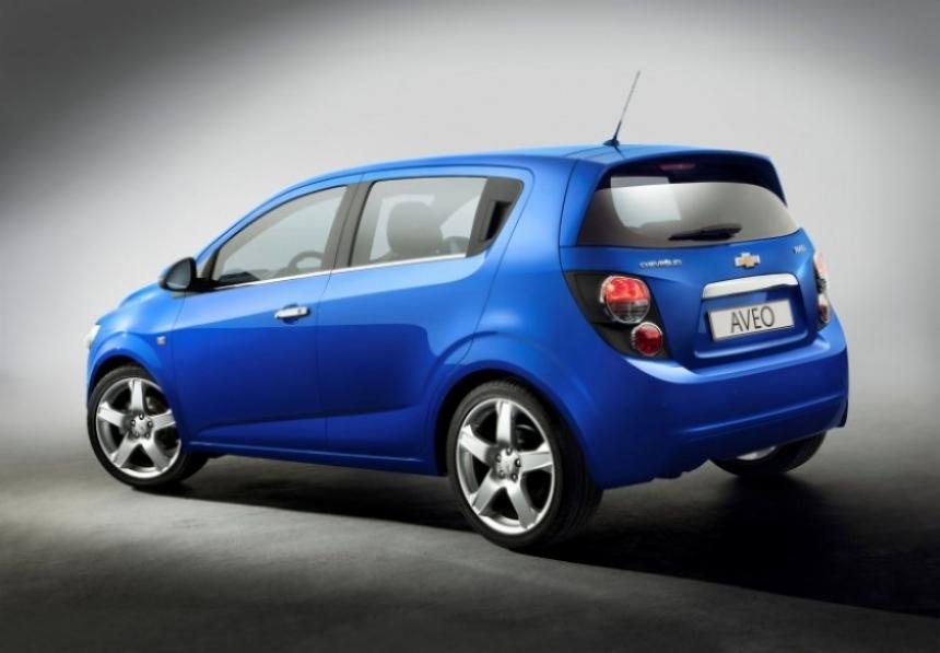 Así es el nuevo Aveo que Chevrolet estrenará en París.