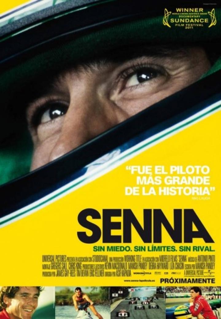 Asistimos a la proyección de la película 'Senna'