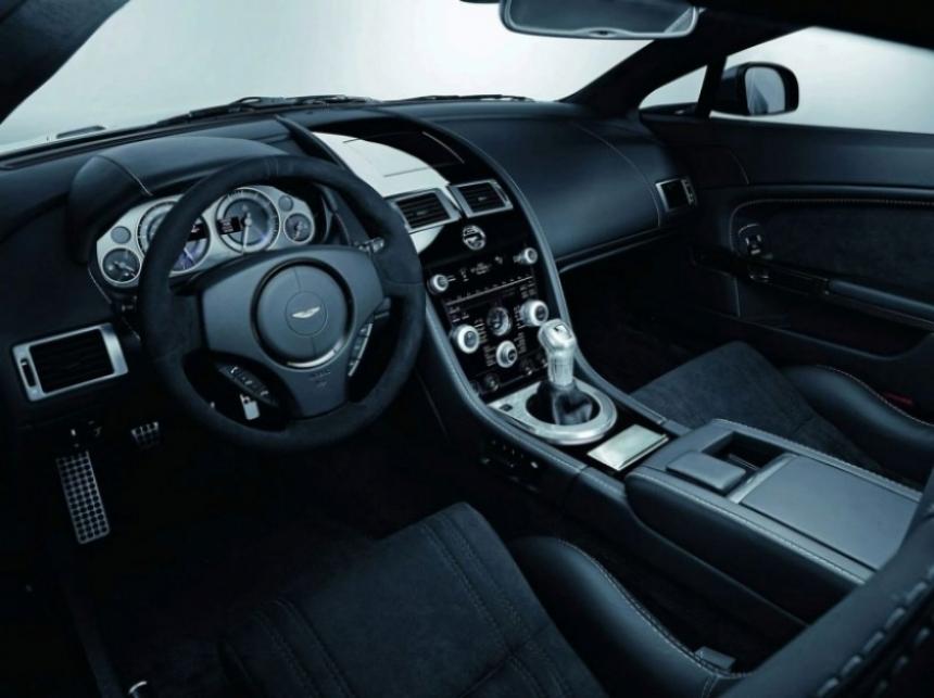 Aston Martin  presenta dos ediciones especiales Carbon Black.