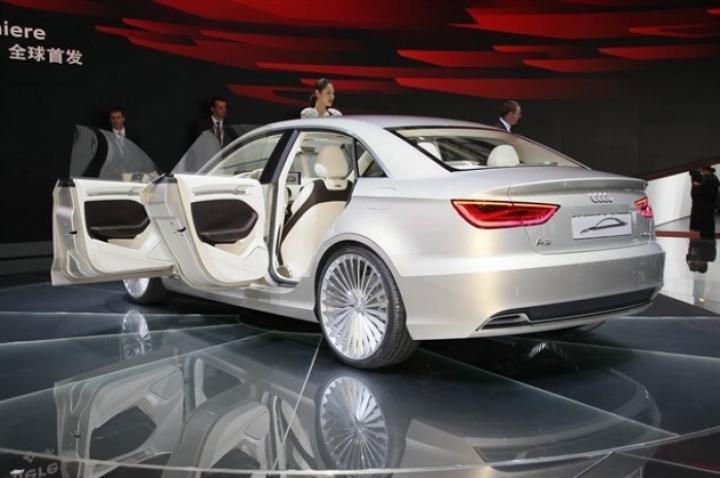 Audi A3 e-tron Concept presentado en Shangai