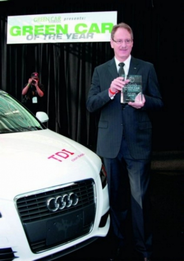 Audi A3 TDI coche verde del año