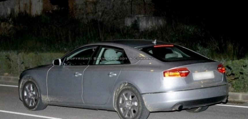 Audi A5 Sportback, fotos espía