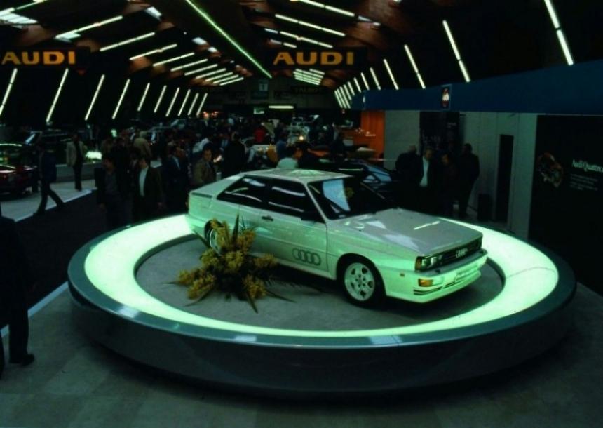 Audi celebra los 30 años de la creación de Quattro.