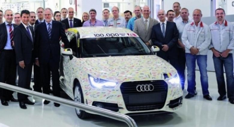 Audi fabrica la unidad 100.000 del A1 en un año de producción