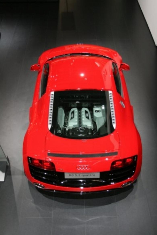 Audi R8 5.2 FSI quattro en el Salón de Barcelona