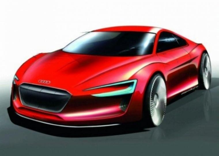 Audi R8 e-Tron, la apuesta electrica de Audi ha sido presentada