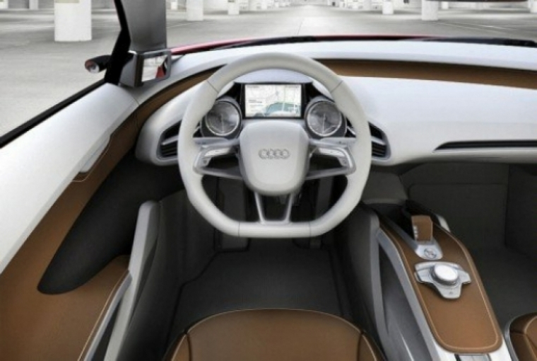 Audi R8 eléctrico, primeras imágenes