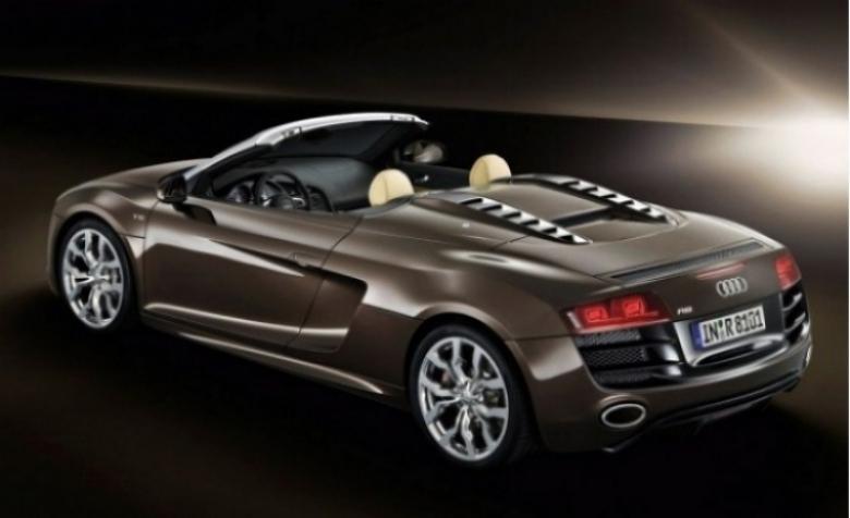 Audi R8 Spyder estrena motor V8 de 430 caballos