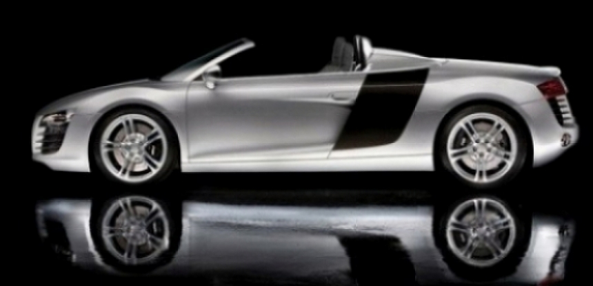 Audi R8 V10 5.2 FSI Spider, vídeo espía