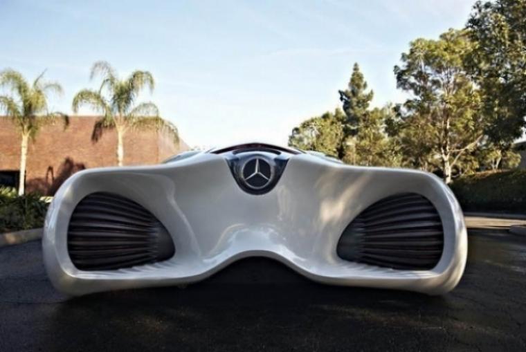 Biome, un súper Mercedes Benz de cuatro plazas y menos de 400 kilos de peso
