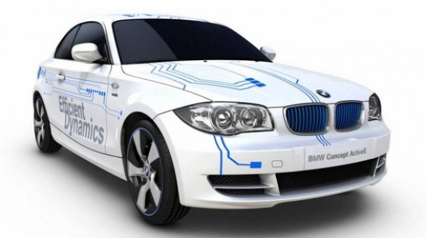 BMW Concept ActiveE, el eléctrico alemán en el Salón de Detroit