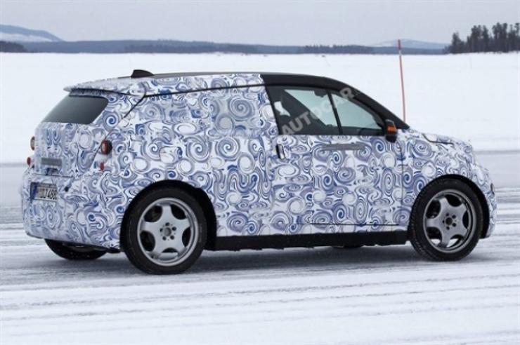 BMW i3, el  coche eléctrico de la casa de Baviera sería como el Chevrolet Volt