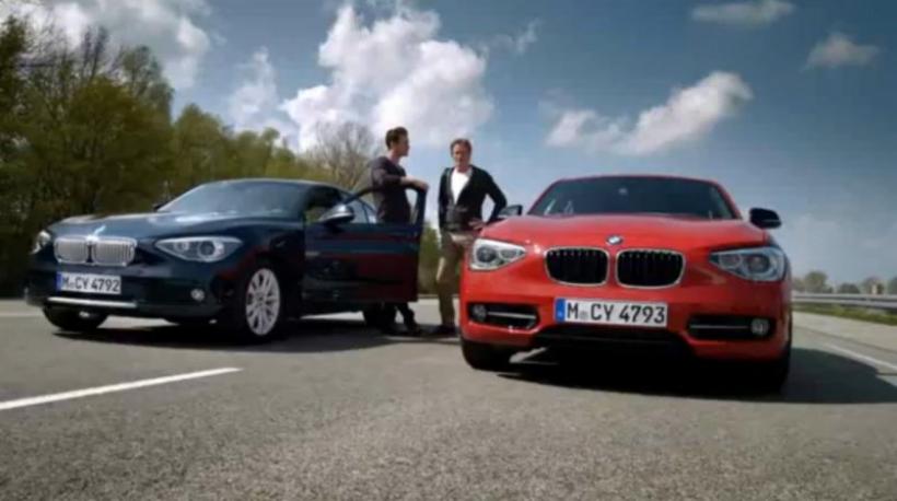 BMW lanza la campaña de publicidad del Serie 1 2012