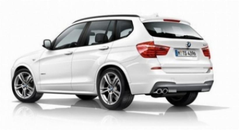 BMW nos enseña el M Sport Pack para el nuevo X3.