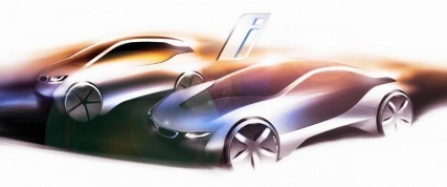 BMW presenta su nueva marca ecologica, denominada BMW i
