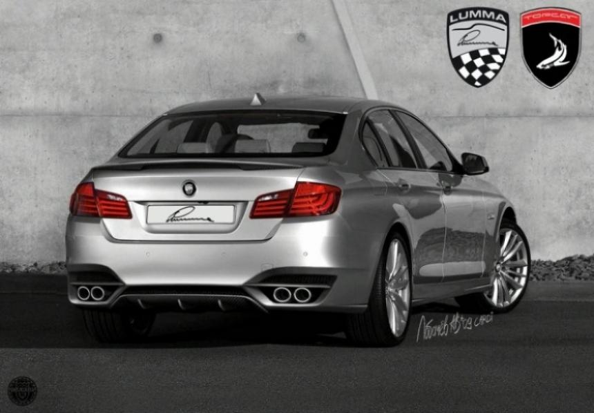 BMW Serie 5 preparado por TopCar, Cardi y Lumma Design.