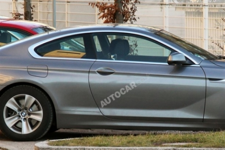 BMW Serie 6 Coupé pillado al desnudo antes de su estreno
