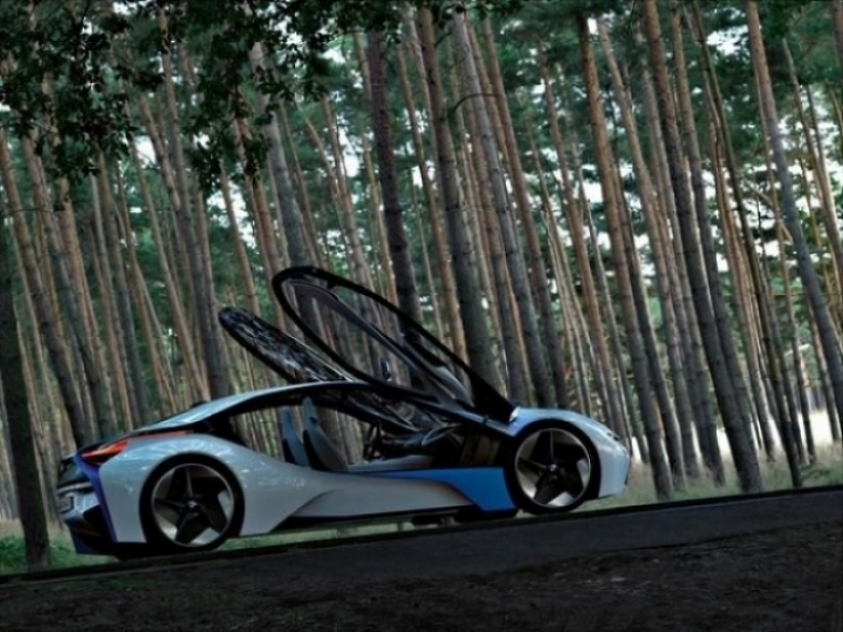 BMW Vision EfficientDynamics, un híbrido del futuro