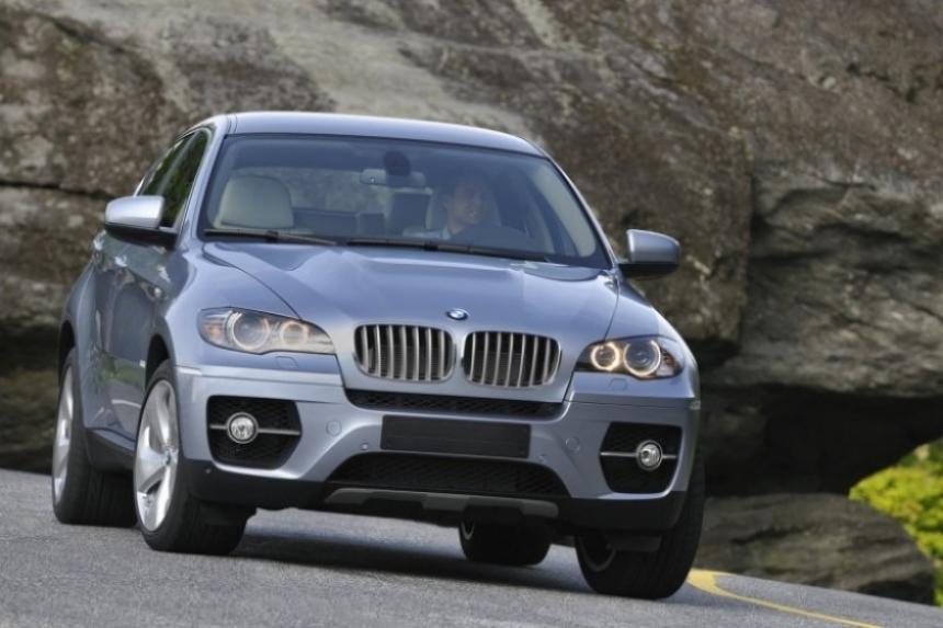 BMW X6 ActiveHybrid, el híbrido más potente del mundo