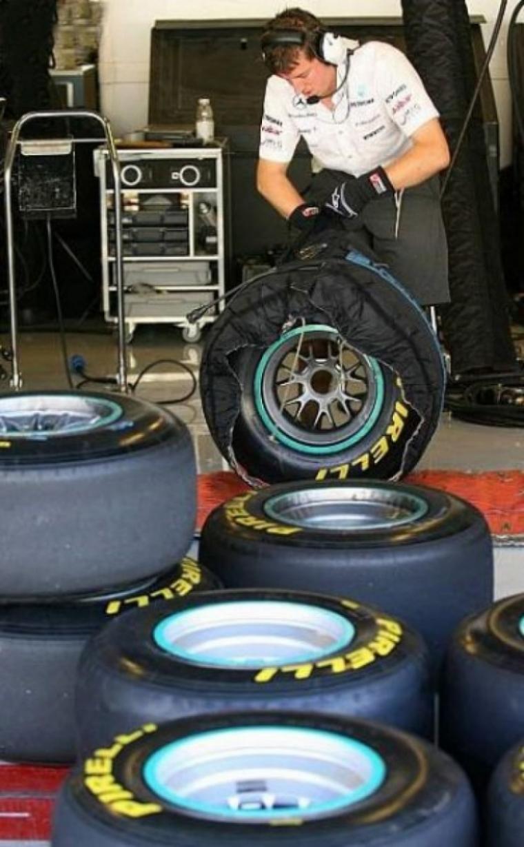 Buenas sensaciones con los Pirelli