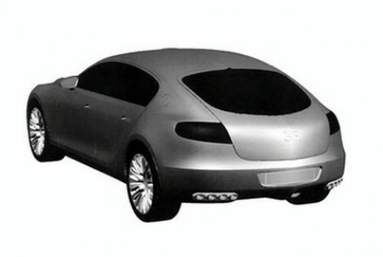 Bugatti registra al 16C Galibier concept.