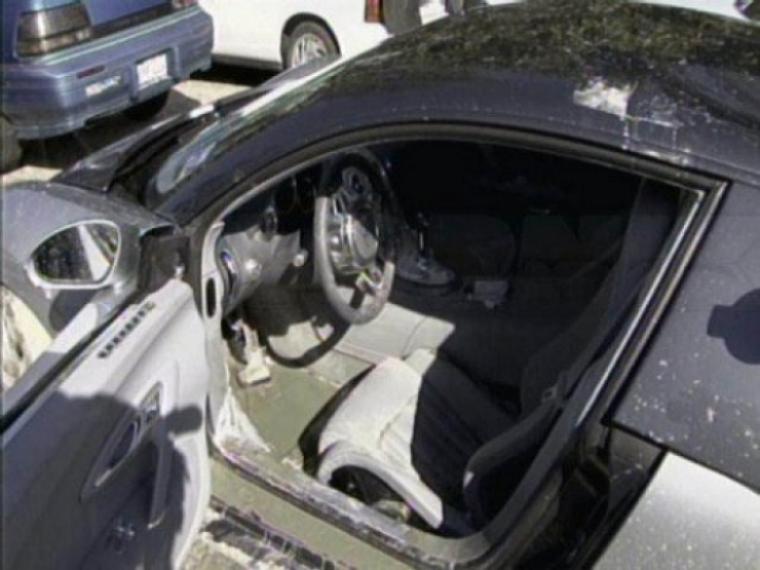 Bugatti Veyron pasado por agua. Las consecuencias.