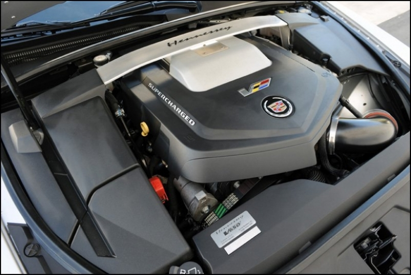 Cadillac CTS-V Sport Wagon preparado por Hennessey