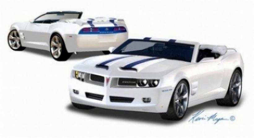 Camaro 2010 convertido en un Pontiac Trans Am