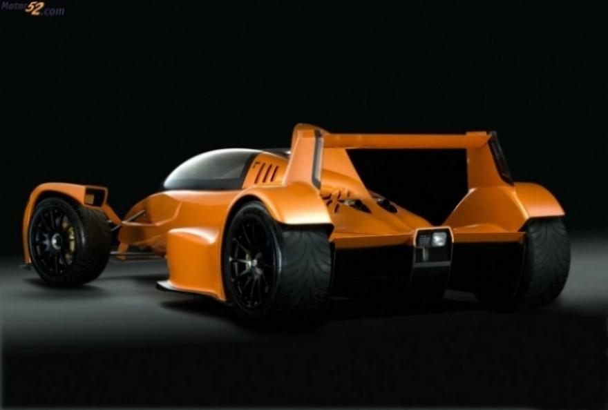 Caparo T1 Race Extreme, un verdadero F1 para la ciudad