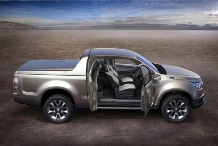 Chevrolet anticipa el diseño de su futura pick-up con el Colorado Concept