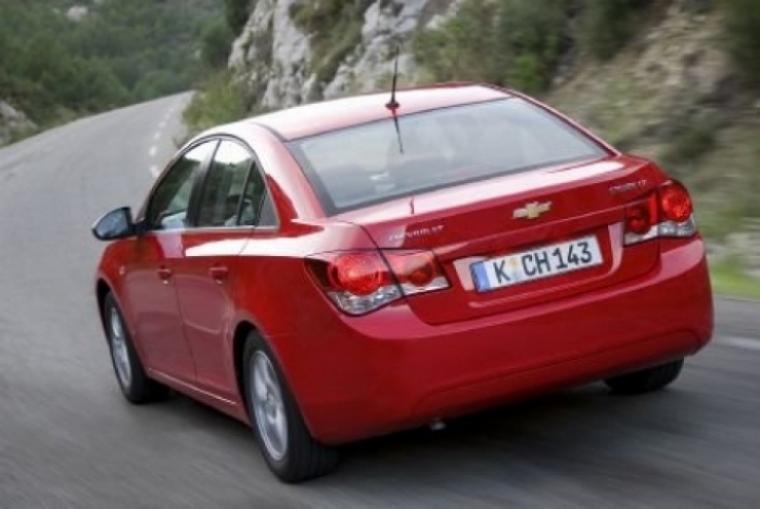 Chevrolet Cruze, un coche con estilo