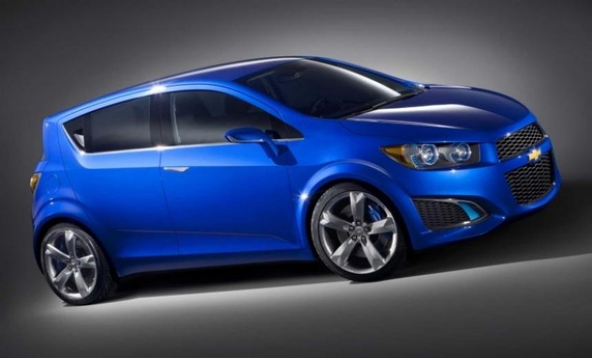 Chevrolet desvela el nuevo Aveo RS.